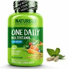 NATURELO One Daily Multivitamin for Men 50+ - with Whole Food Vitamins - Organic