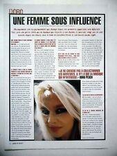 COUPURE DE PRESSE-CLIPPING :  DORO  11/2002 Interview,Fight