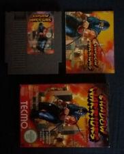 Nintendo Shadow Warriors Ninja Gaiden Temco Complet Vintage