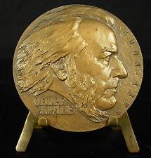 Médaille caricaturiste politique peintre et sculpteur Honoré Daumier 58 mm Medal