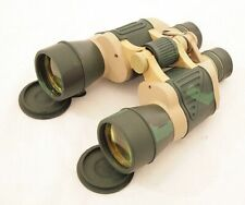 20X50 Day + Night PRISM Ruby Coated Lense Camo Green MILITARY BINOCULARS Pouch