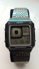 SEIKO G757 4010 LCD DIGITAL WATCH AND BOX