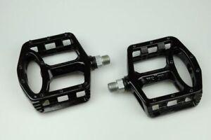 New WELLGO MG-1 MG1 Magnesium Bike Platform Pedals Sealed Bearing - Black
