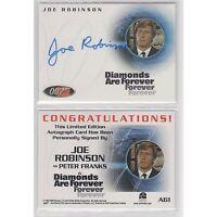 James Bond Dangerous Liaisons - A61 Joe Robinson as Peter Franks Autograph
