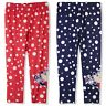 Disney Minnie Mouse Girls Full Length Leggings Bottoms Pants Polka Dots 3-8 Yrs