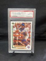 1991 Upper Deck Final Edition Ivan Rodriguez ROOKIE RC #55F PSA 9 Looks better!