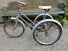 WW2 1950S era CHILDS TRICYCLE for High End Retail Display SHOP WINDOW attract !!