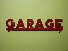 ENSEIGNE  GARAGE  POUR   STATION   SERVICE   FRANCE  JOUETS   VROOM   1/43