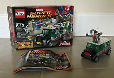 Marvel Lego 76015 Doc Ock Truck Heist w/ Box+Instructions (missing some pieces)