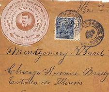 VV158 1914 BRAZIL ADVERT *Frederico Dantas de Castro* VIGNETTE {samwells-covers}