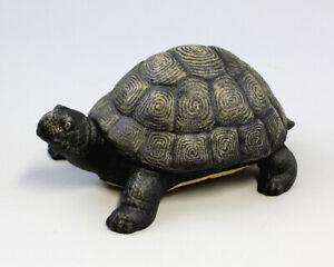9937264 Sculpture Figure Iron Metal Turtle Door Stopper Colourful 25x17cm