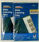 """Tabbies """"Desert Camo"""" Bible Indexing Tabs Old & New Testament 90 Tabs 2 Pack"""