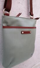 -AUTHENTIQUE sac bandoulière LE TANNEUR   toile/cuir TBEG vintage bag
