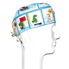 Peanuts Gang Winter theme scrub hat