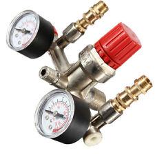 Air Compressor Pressure Control Valve Switch Manifold Relief Regulator Gauges