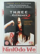 Three Extremes 2 (DVD, 2006) PAL Region 2 - (3 extremes two)