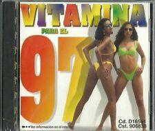 Vitamina Para El 97 Latin Music CD