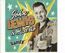 CD JOHN LEWIS & HIS TRIOsanityNEAR MINT  (B4931)