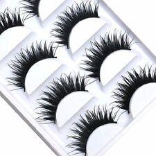 10 Pairs Wispy False Eyelashes Makeup Natural Fake Thick  Eye Lashes USA