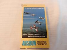 Airshow The Ultimate Power Surge! VHS Tape 1986