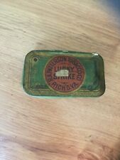 Vintage Patterson Lucky Strike Tobacco Tin