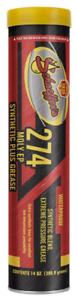 SCHAEFFER'S 274 MOLY EP Synthetic Blend Grease  14oz - 1 tube - #2