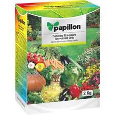 Concime granulare Papillon universale e per orto fertilizzante 2 kg