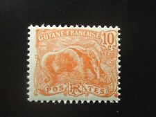 French Guiana 1904 Mnh 10c anteater, Nh!