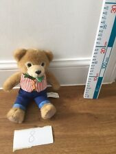 ROYAL WORCESTER WOOSTER BEAR PLUSH SOFT TOY RUSS BERRIE TEDDY