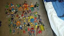 Lot 1990'S Action figure Marvel Legends Toy Biz Vintage HULK DC comic book xmen