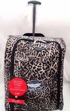 Peso ligero-cabaña-mano-Equipaje - equipaje de mano ruedas-Bolsa Trolley-Case-Estampado De Leopardo