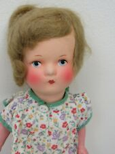 Antique Germany Girl Doll Paper Mache Head & Torso Compo Limbs Kathy Kruse Type