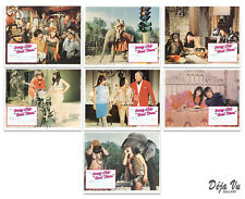 Good Times Original Lobby Card Set of 7  - Sonny and Cher - 1967 - NM