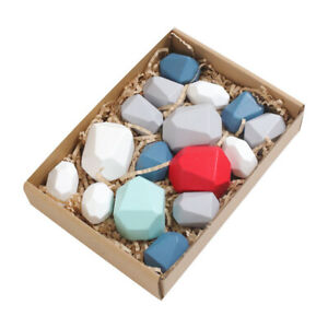 1 Set Stone Toy Educational Toy Stacking Toy Children Toy for Child Baby Girl