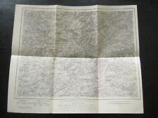 alte Landkarte Karte des Deutschen Reiches Nr.569 St.Avold von 1908
