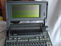 Vintage Wang Laptop Computer Model WLTC,Old School,RARE,Old laptop,raritas,