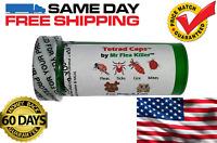 100Tetrad Cap Capsule Dog Cat 13-26lb Rapid Flea Tick Lice Mite Killer Control 2