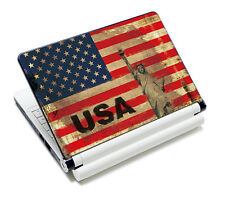 "USA Flag Laptop Sticker Skin Cover For 14"" 15.4"" 15.6"" Sony Toshiba HP Dell Acer"