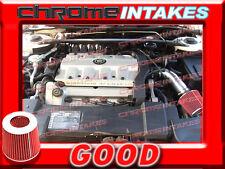 BLACK RED NEW 1996 1997 1998 1999 OLDSMOBILE AURORA 4.0 4.0L V8 AIR INTAKE KIT