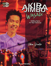 AKIRA JIMBO WASABI ADDING SPICE TO YOUR GROOVES DRUM BOOK/CD LEARN DRUMS NEW