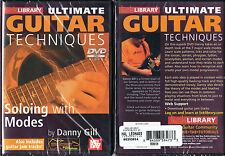 Lick Library, Soloing with Modes, Ultimate Guitar Techniques, Guitar DVD