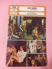 US Road Movie Easy Rider Peter Fonda Dennis Hopper French Film Trade Card