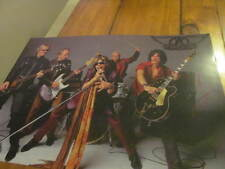 Mick Jagger The Rolling Stones/Aerosmith Signed 11x17  Photo COA