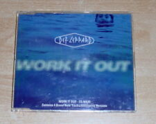 Def Leppard  Work It Out   Maxi CD