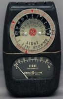 GENERAL ELECTRIC DW-68 Exposure Meter Photo Photography Vintage Lightmeter