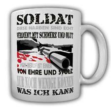 Questo soldato cicatrici sono in puro TAZZA BW Militare Fun orgoglio professionale pistola onore #225