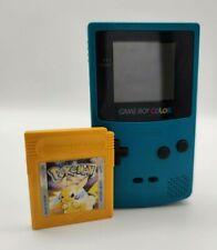 Nintendo GameBoy Color Türkis inkl. Spiel Pokémon gelb