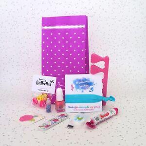 Pre Filled Older Girls Pamper / Sleepover Party Gift Bag Fillers - Spa Beauty
