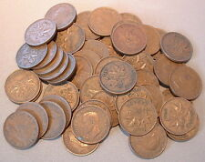 CANADA  1 CENT 1942  VG to F+ ****50 pcs lot*****