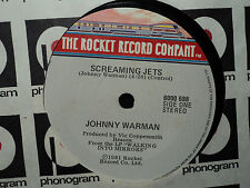 "Johnny Warman ""Screaming Jets"" 1981 ROCKET NZ 7"" 45rpm"